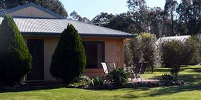 Serena Cottages near Beechworth offers complete privacy in a tranquil bush