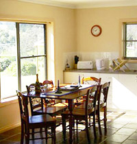 Serenca Cottages are suitable for a romantic interlude, family holiday or quiet country escape